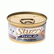 Stuzzy - Консервы для кошек (кусочки индейки) GOLD