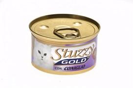 Stuzzy - Консервы для кошек (мусс из кролика) GOLD