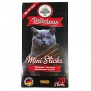 Tomi - Мини палочки для кошек 20 шт (с салями) Delicious Mini Sticks