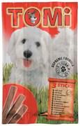 Tomi - Палочки для собак 3 шт (с говядиной)