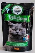 Tomi - Паучи для кошек (французская кухня) Delicious