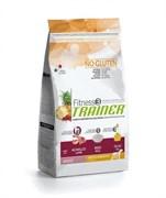 Trainer - Сухой корм для взрослых собак средних и крупных пород (с ягненком и рисом) Fitness No Gluten Medium/Maxi Adult Lamb and Rice