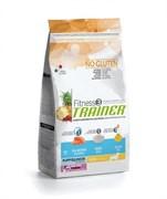 Trainer - Сухой корм для щенков и юниоров мелких пород (с лососем и рисом) Fitness No Gluten Mini Puppy&Junior Salmon and Rice