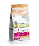 Trainer - Сухой корм для юниоров средних и крупных пород (с уткой и рисом) Fitness No Gluten Medium/Maxi Junior Duck and Rice