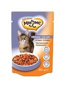 Мнямс - Паучи для взрослых кошек в соусе, чувствительное пищеварение (ягнёнок)