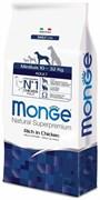 Monge - Сухой корм для взрослых собак средних пород (курица с рисом) Medium Adult Dog