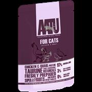 AATU - Паучи для кошек  (с курицей и перепелом) CHICKEN & QUAIL