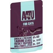 AATU - Паучи для кошек (с курицей и фазаном) CHICKEN & PHEASANT