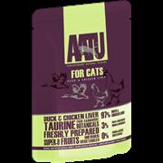 AATU - Паучи для кошек ( с уткой и куриной печенью) DUCK & CHICKEN LIVER