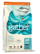 GATHER organic (Petcurean) - Органический сухой корм для собак (с океанической рыбой) Wild Ocean Fish