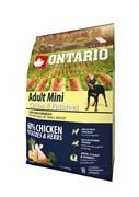 Ontario - Сухой корм для собак малых пород (с курицей и картофелем) Adult Mini Chicken & Potatoes