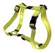 Rogz - Шлейка, желтый (размер XL (60-100 см), ширина 2,5 см) UTILITY H-HARNESS