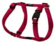 Rogz - Шлейка, розовый (размер S (23-37 см), ширина 1,1 см) ALPINIST H-HARNESS