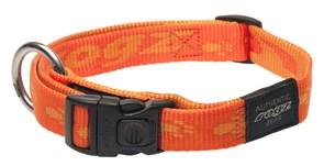 Rogz - Ошейник, оранжевый (размер L (34-56 см), ширина 2 см) ALPINIST SIDE RELEASE COLLAR