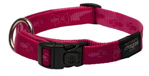 Rogz - Ошейник, розовый (размер L (34-56 см), ширина 2 см) ALPINIST SIDE RELEASE COLLAR