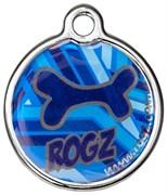 "Rogz - Адресник металлический малый ""Морской"" METAL ID TAG SMALL"