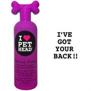 Pet Head - Шампунь для сухой и чувствительной кожи собак с юккой, ромашкой и шелком (клубнично-йогуртовый), без сульфатов и парабенов