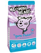 """Barking Heads - Сухой корм для взрослых кошек """"Удачная рыбалка"""" (с лососем, морской рыбой, курицей и яйцом)"""