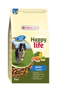 Happy Life (Versele-Laga) - Сухой корм для собак (с лососем) Adult Salmon