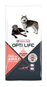 Opti Life (Versele-Laga) - Сухой корм для собак с чувствительной кожей (с лососем и рисом) Adult Skin Care Medium & Maxi