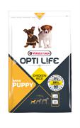 Opti Life (Versele-Laga) - Сухой корм для щенков малых пород (с курицей) Puppy Mini