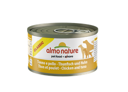 Almo Nature - Консервы для собак (с тунцом и курицей) HFC Classic Tuna and Chicken