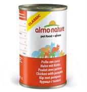Almo Nature - Консервы для кошек (с Курицей и Тыквой) Classic Adult Cat Chicken and Pumpkin