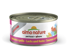 Almo Nature - Консервы для кошек (с Лососем и Курицей) Legend Adult Cat Salmon and Chicken