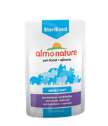 Almo Nature - Паучи для кастрированных кошек (с треской) Functional Sterilised with Code