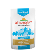 Almo Nature - Паучи для кастрированных кошек (с цыпленком) Functional Sterilised with Chicken