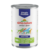 Almo Nature - Консервы для собак с чувствительным пищеварением (с Индейкой) Single Protein Turkey