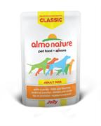 "Almo Nature - Паучи для собак ""Курица и Морковь в желе"" Classic Jelly Chicken and Carrots"