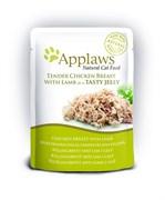"Applaws - Паучи для кошек ""Кусочки курицы с ягненком в желе"" Cat Pouch Chicken with Lamb in Jelly"