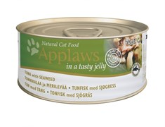 """Applaws - Консервы для кошек """"Кусочки в желе"""" (с тунцом и морской капустой) Jelly Tuna and Seaweed"""