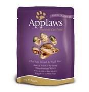 Applaws - Паучи для кошек (с курицей) Cat Pouch Chicken