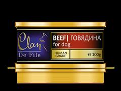 Clan De File - Консервы для собак (говядина) № 50