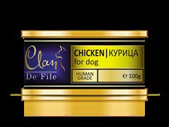 Clan De File - Консервы для собак (курица) № 53