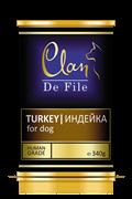 Clan De File - Консервы для собак (индейка) № 62