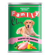 Clan Family - Консервы для собак (паштет из индейки) №44