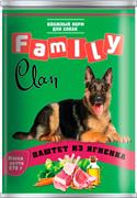 Clan  Family - Консервы для собак (паштет из ягнёнка) №42