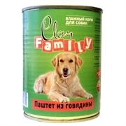 Clan Family - Консервы для собак (паштет из говядины) №43