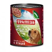 Трапеза - Консервы для собак (с птицей)