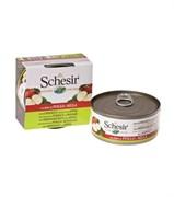 Schesir - Консервы для собак (цыплёнок с яблоком)