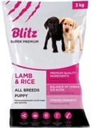 Blitz - Сухой корм для щенков всех пород (с ягнёнком и рисом) Puppy Lamb & Rice