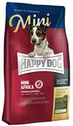 Happy Dog - Сухой корм для собак мелких пород с чувствительным пищеварением Mini Africa