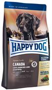 Happy Dog - Сухой корм для взрослых собак (с лососем, кроликом и ягненком) Supreme Canada