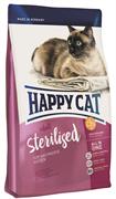 Happy Cat - Сухой корм для кастрированных котов и стерилизованных кошек Adult Sterilised