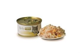 Brit - Консервы для кошек (с куриной грудкой и сыром) Care Chicken Breast&Cheese