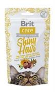 Brit - Лакомство для кошек для блестящей шерсти Care Shiny Hair
