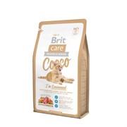 Brit - Сухой беззерновой корм для кошек-гурманов Care Cat Cocco Gourmand